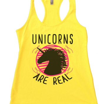 Unicorns are real Womens Workout Tank Top