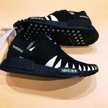 CREYON Adidas NMD x NBHD Knitted Face Shoes Sneakers