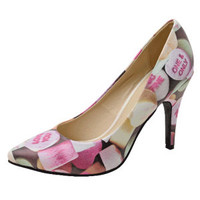 Candy Hearts Pointed-Toe Heels - Women's Clothing & Symbolic Jewelry – Sexy, Fantasy, Romantic Fashions