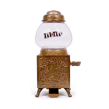 M&M'S 75th Anniversary Retro Metal Dispenser Limited Edition New with Box
