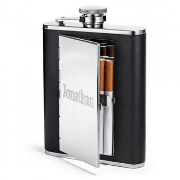 Cigarette Case Flask