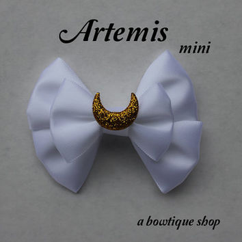 artemis mini hair bow