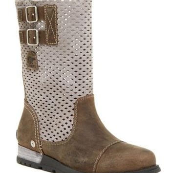 DCCKHB3 Sorel | Major Pull-On Perforated Boot (Women)