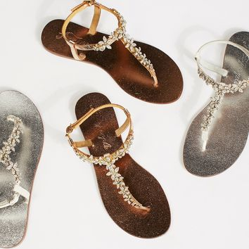 Free People Shimmer Sparkle Sandal
