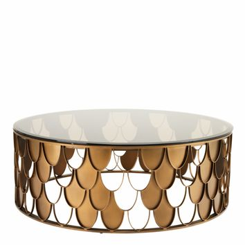 Copper Coffee Table | Eichholtz L'indiscret