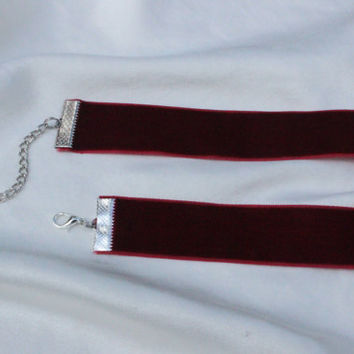 The Velvet Cherry Choker