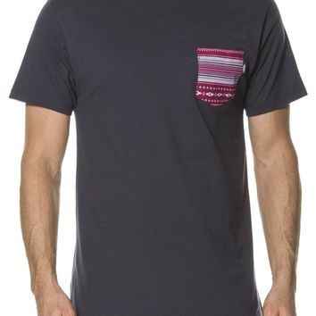 VANS NATIVE STRIPE SS POCKET TEE