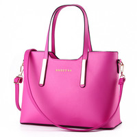 Fashion Simple Retro High Capacity Handbag Single Shoulder Bag Messenger Bag Big Bag