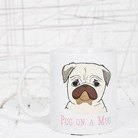 Pug on a Mug at Urban Outfitters