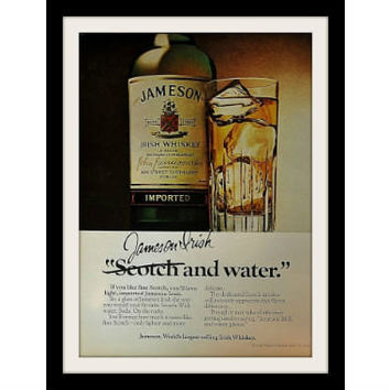 1979 Jameson Irish Whiskey Ad, Vintage Advertisement Print