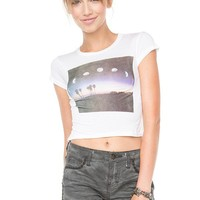Brandy ♥ Melville |  Carolina Crescent Moon Top - Graphics