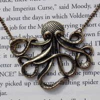 Maritime Monster Giant Octopus Necklace | Wicked Clothes