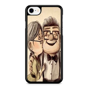 Up Disney Pixar Carl And Ellie iPhone 8 Case