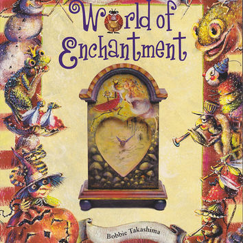 Book Painting a World of Enchantment by Bobbie by 7thStash on Etsy