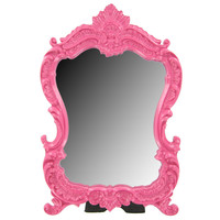 Hot Pink Mirror with Resin Scroll Frame | Hobby Lobby | 483842