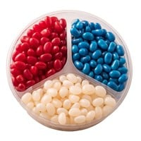 July 4 Candy Assortment, Red Blue White Candy Mix By Chocolate Decor (Small)