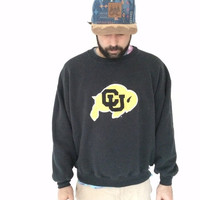 ON SALE Vintage Colorado University sweatshirt