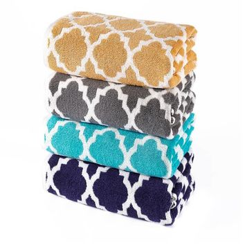 Riviera Jacquard Bath Towel Collection