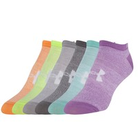 Under Armour® 6 Pack Liner Socks