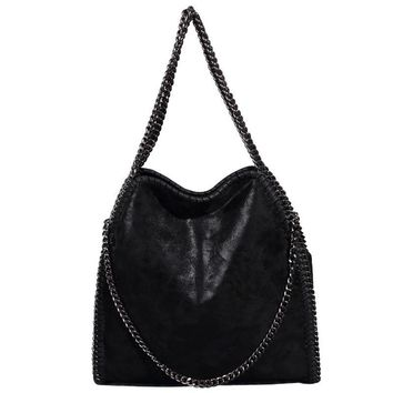 Lowest Price Women Messenger Shoulder Bags PU Falabellas Hobo Clutch Chains Evening Socialite Tote Sac A Main Female Handbag
