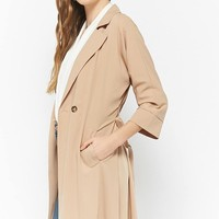 Double-Breasted Trench Dress
