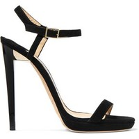 Claudette suede sandals | JIMMY CHOO | Sale up to 70% off | THE OUTNET