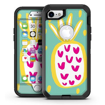 Mint v3 Pineapple - iPhone 7 or 7 Plus OtterBox Defender Case Skin Decal Kit