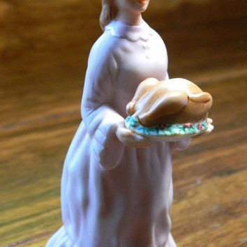 "Vintage 1991 Hallmark Ornanament ""Mrs Cratchit"" from the Charles Dickens Christmas Carol Collection - Damaged Box"