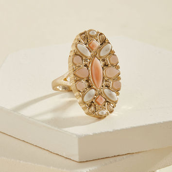 A Peach of My Heart Ring | Mod Retro Vintage Rings | ModCloth.com