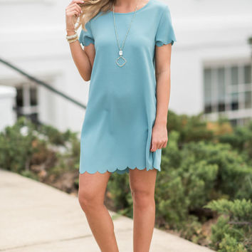 Love This Feeling Dress, Mineral Blue