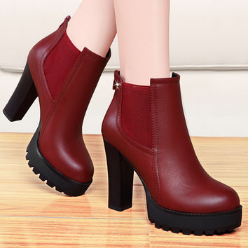 2016 New High-Heeled Shoes
