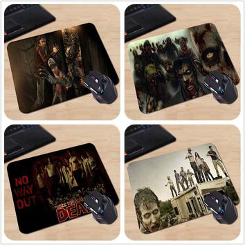 The Walking Dead 3D Game Horrible Zombie Personalized Mouse Mat Anti-slip Rubber Computer Make Your Own Fabulous Mouse Pad
