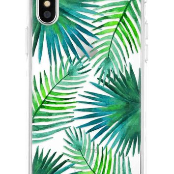 The Casery iPhone Case - Palm Leaves