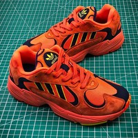 Adidas Originals Yung 1 Yung-1 Orange Yeezy 700 Wave Runner  B37616 - Best Online Sale