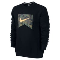 Nike Foundation Camo Fill Men's Sweatshirt - Black
