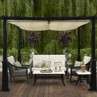 Outdoor Patio Smith & Hawken?- Windsor Metal Conversation Collection : Target