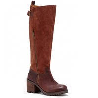 Sole Society Nogales Leather Knee High Boot