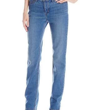 Levi's Women's 525 Perfect Waist Straight Jeans