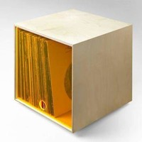 Vinyl Storage Cube - Clear