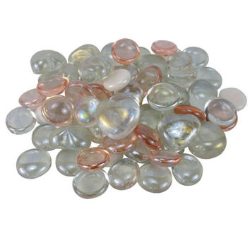 Ashland® Decorative Fillers, Heart & Dome Glass Gems