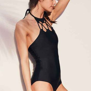 Motel Web One-Piece Swimsuit