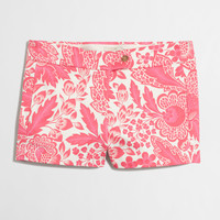 """Factory 3"""" printed stretch chino short : 3""""   J.Crew Factory"""