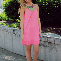 Flamingo Beach Dress