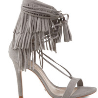 Schutz 2016 || Kija high heel sandal in ciment grey