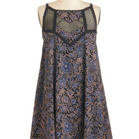 ModCloth Boho Mid-length Sleeveless Tent Peppy in Paisley Dress