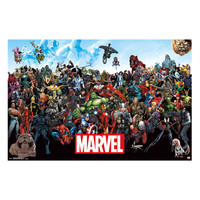 Marvel Group Lineup Poster