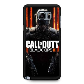 Call Fo Duty Black Ops 3 Samsung Galaxy Note 5 Case