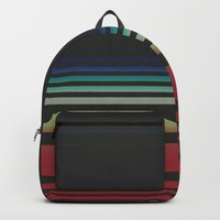 Let's Stripe Backpack by duckyb