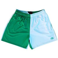 Kelly and White Rugby Shorts