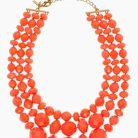 give it a swirl triple strand necklace - kate spade new york